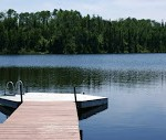Dock access to this private Lake