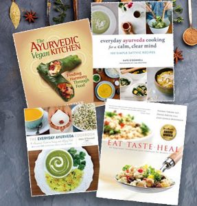 Yoga North ISYI 20% off Ayurveda cook books in May