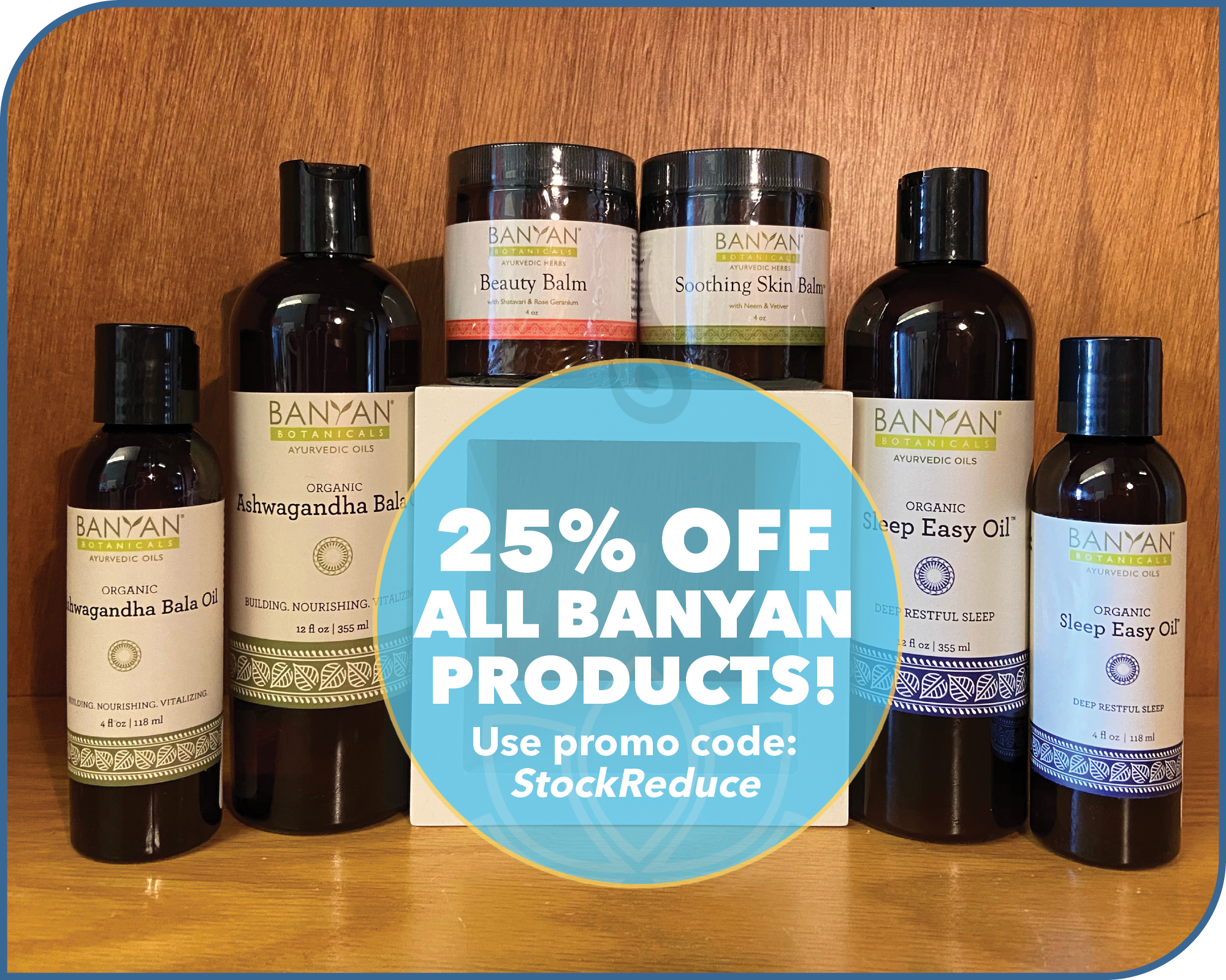 Yoga North ISYI November Special 25 Percent Off Banyan Products