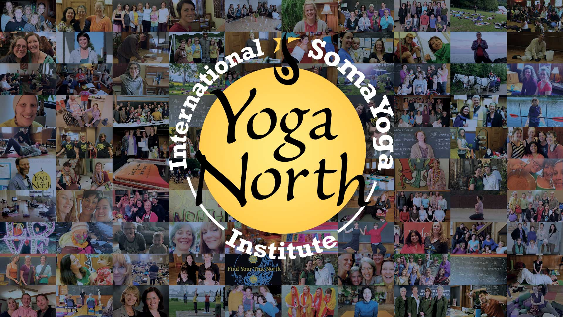 Yoga North ISYI 25th Anniversary Collage