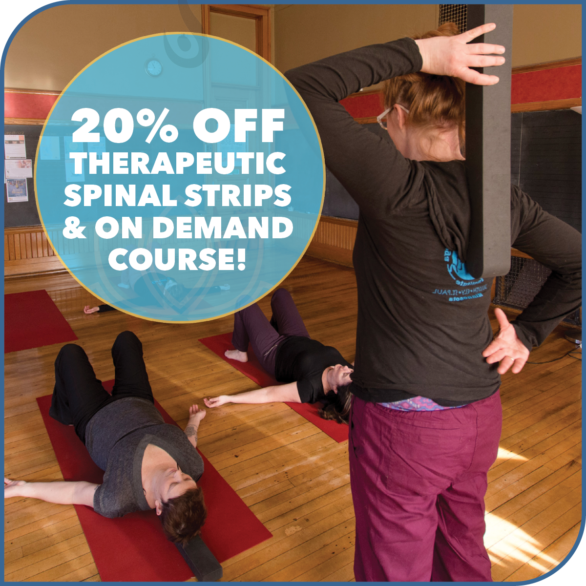 Yoga North ISYI 20% Off Therapeutic Spinal Strips and Course