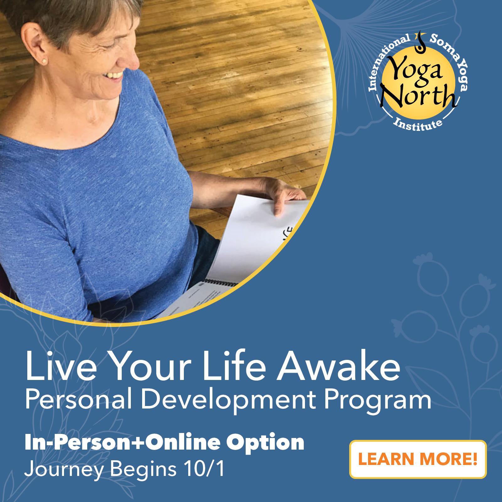 Yoga North ISYI Live Your Life Awake Path