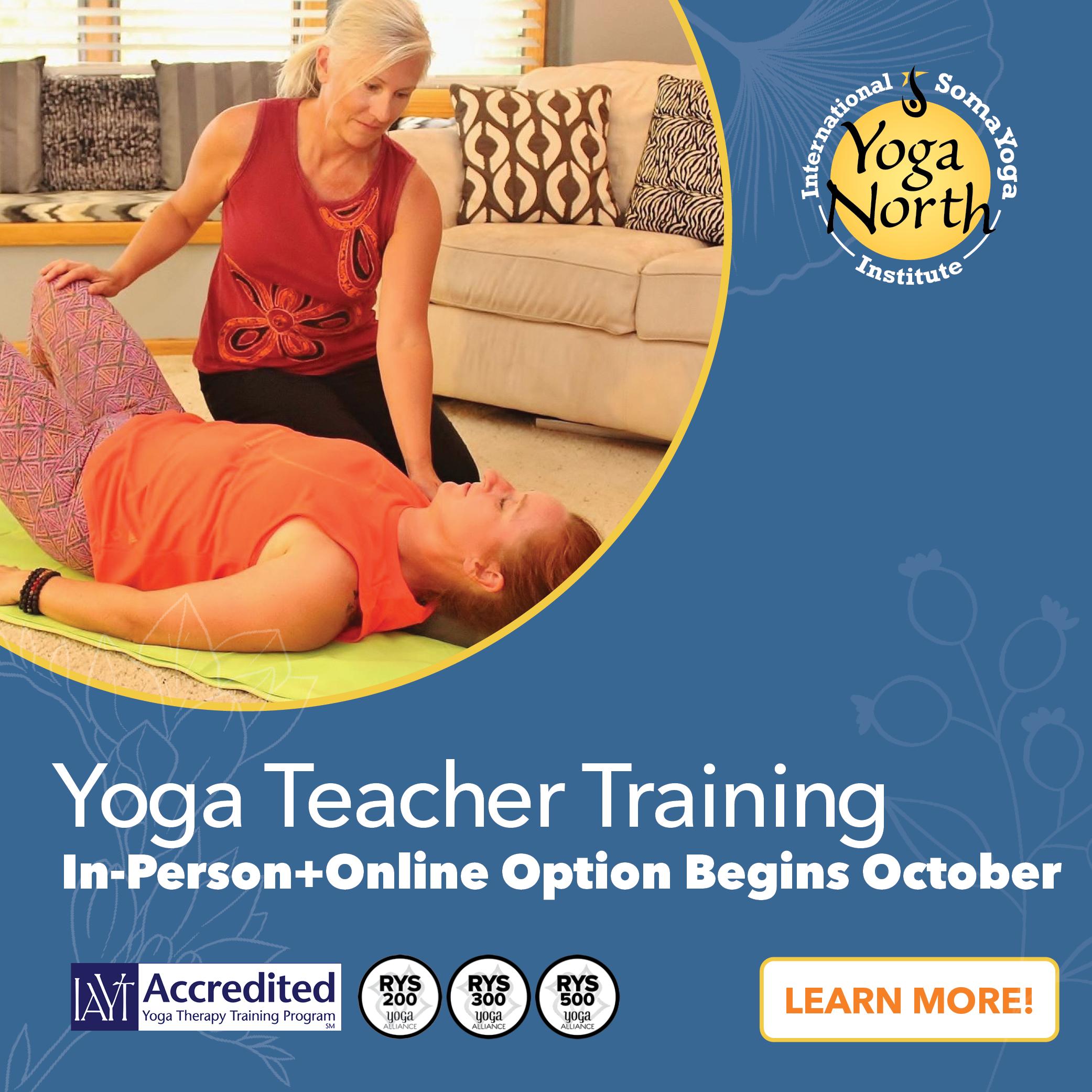 Yoga North ISYI Therapeutic Yoga Teacher Training